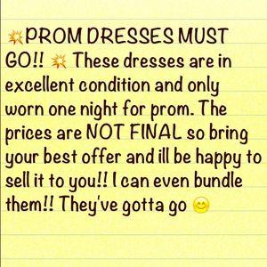 Dresses & Skirts - Dresses must go!!