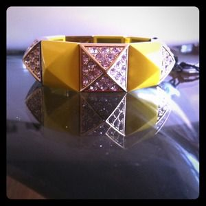 Juicy Couture Accessories - Juicy Couture pyramid stretch bracelet!