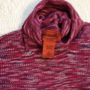 Missoni Tops - Missoni for target pink turtleneck- like new