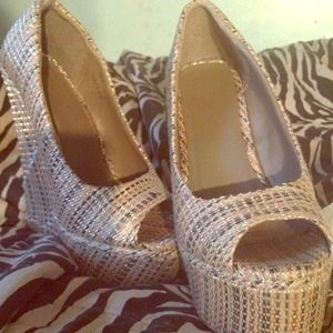 Shoes - Reduced....👉Sky high wedge heels