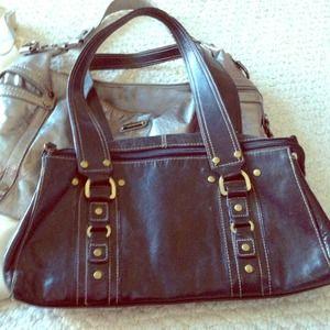 Apt 9 black leather purse