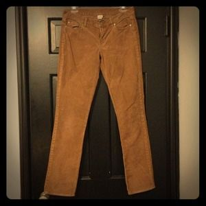 J. Crew Pants - J. Crew Brown Cords
