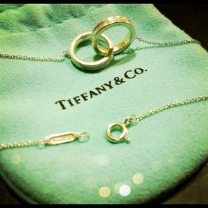 Tiffany's two ring necklace