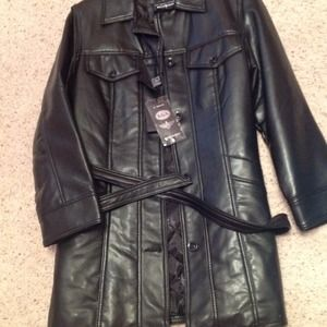 Reportage leather jacket