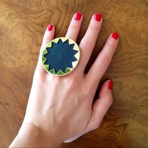 House of Harlow 1960 Jewelry - House of Harlow sunburst ring