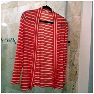 J. Crew Shoes - J Crew Striped Sailor Cardigan