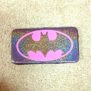 Clutches & Wallets - Holographic Batman Wallet