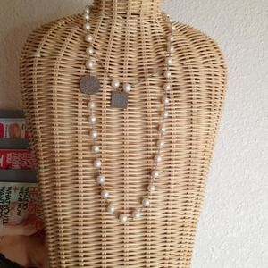 Jewelry - Infinity real pearl necklace