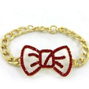 Jewelry - Lobster metal ribbon Bracelet