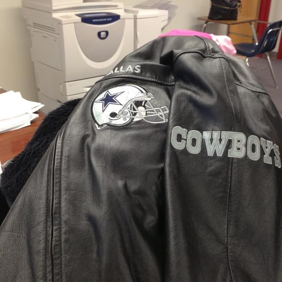 Dallas cowboy leather jackets
