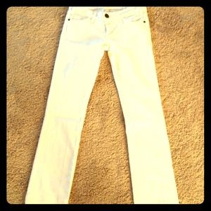 Current/ Elliott White Jeans