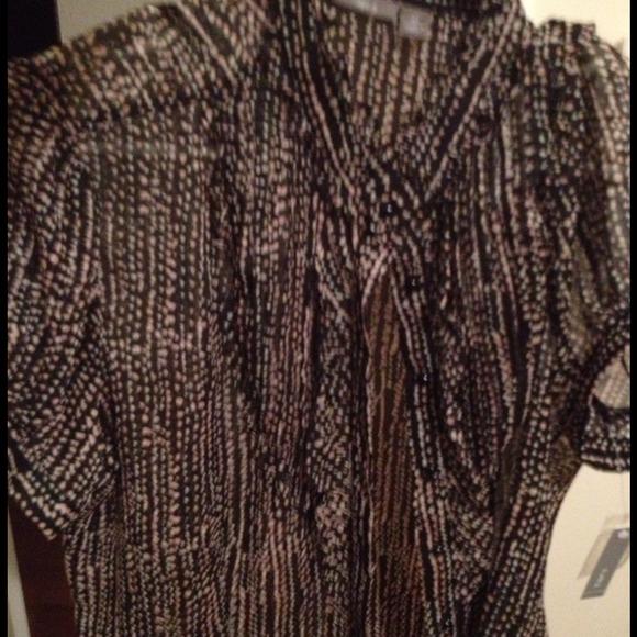 43 Off Apt 9 Tops Dress Shirt From Jennifer 39 S Closet On