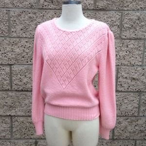 Vintage Baby Pink Sweater