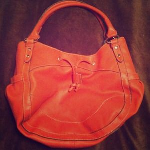 Rust orange bag