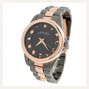 Marc by Marc Jacobs Accessories - ✋SOLD ON EBAY✋Marc Jacobs Rose Gold/Pewter Watch