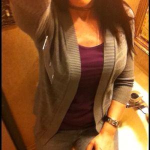 NWT grey sweater M(fits like S)