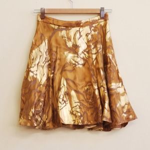 HP: Alice + Olivia Gold Skirt
