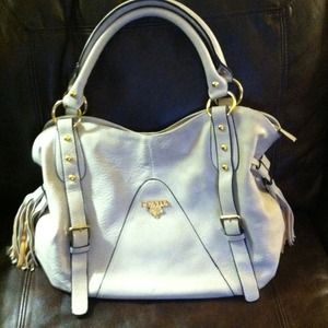 counterfeit prada - 89% off Prada Handbags - Prada Vintage Vela Medium Backpack Black ...