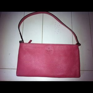 Authentic Kate Spade Pink Leather Purse