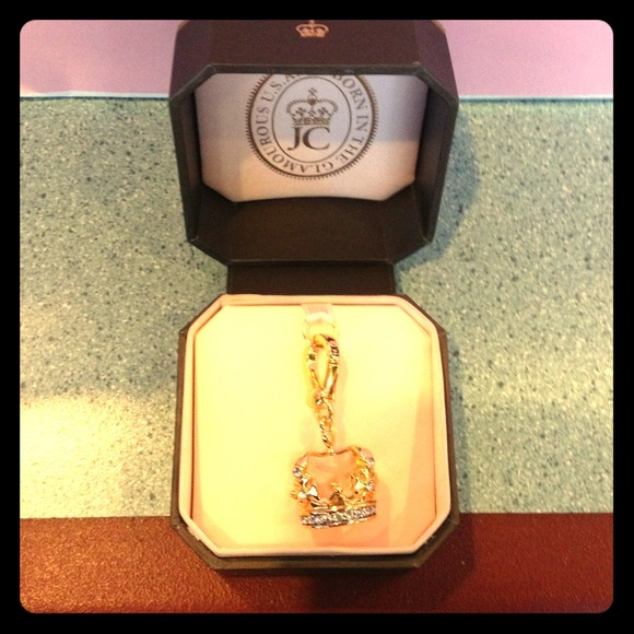 Juicy Couture Jewelry - Juicy Couture Crown Gold Charm
