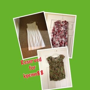 Tops - Dress and two tops