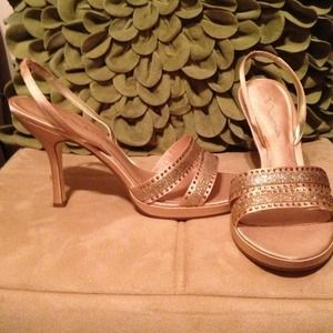 New Nina Gold Shoes