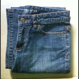 Vintage jeans medium straight slight boot leg