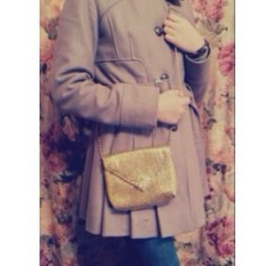 Clutches & Wallets - GOLD-sequined purse