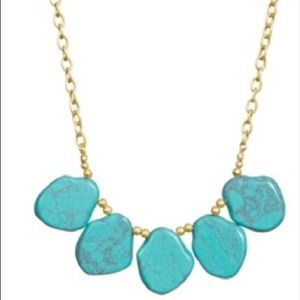 SOLDAvary Necklace in Green Turquoise