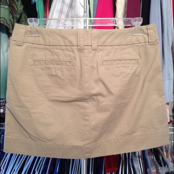 80% off GAP Dresses & Skirts - 🌻GAP🌻Khaki Mini Skirt 💥$7 IF ...
