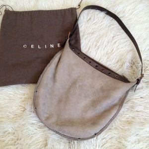Celine - \u0026quot;Hobo Studded Classic Flap Bag BG-#1756038\u0026quot; from ...