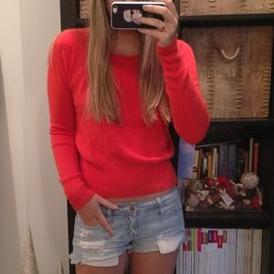 Sweaters - Bright Red Sweater