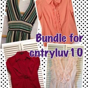 Tops - Bundle for Cntryluv10