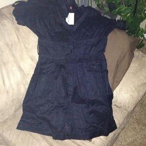 Dresses & Skirts - Black woven dress