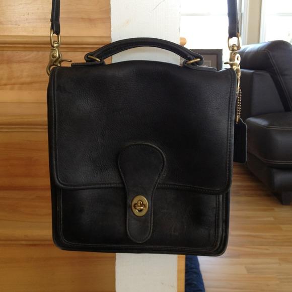 3fded4d4b3f9f7 Mitchell Leather Company black leather handbag. M_510bfcadbdf51c476c013dde