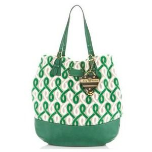⬇ New Juicy Couture Green Blondie Tote