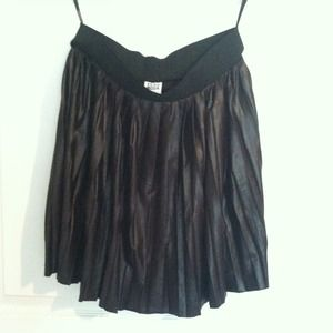 Vero Moda from ASOS faux leather skirt / new
