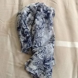 16. Vintage floral scarf
