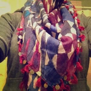 REDUCED 'Madewell' colorful scarf