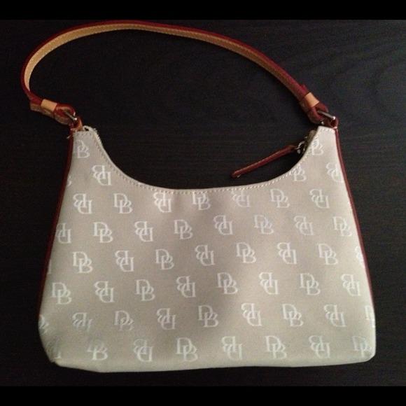 Dooney & Bourke Handbags - Dooney & Bourke Mini Signature Short Shoulder Bag