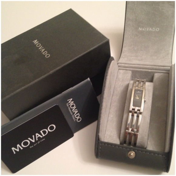 Movado Accessories - 🚫SOLD⛔️Movado Esperanza Stainless Steel 2