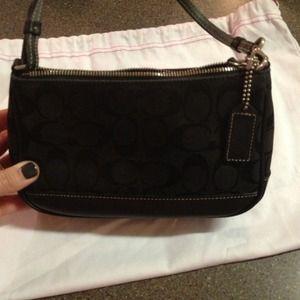 Black coach Demi bag