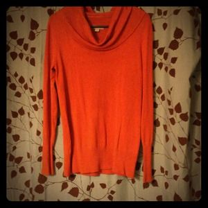 SOLD---$12- Pretty Pumpkin Sweater-BNWOT