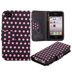 Clutches & Wallets - Polk A Dot iPhone 4S/4 Wallet Case