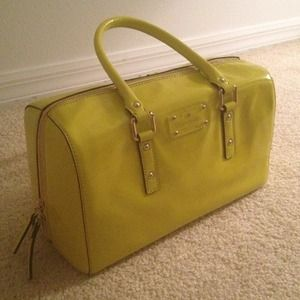 Kate Spade patent leather bag. Not available