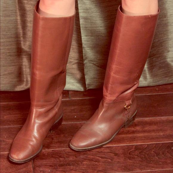 Etienne Aigner Womens Vintage Leather