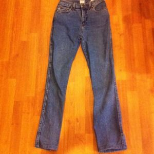 Vintage high waist Moschino jeans made in italy