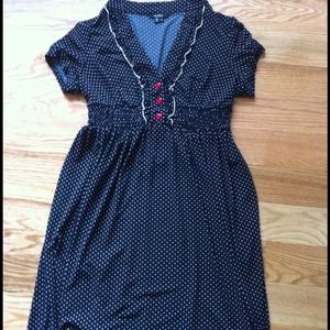 Perfect for ❤ date! XOXO black and white dress