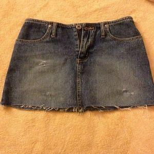 Dresses & Skirts - Short jean skirt