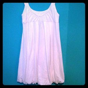 Shimmery White Dress